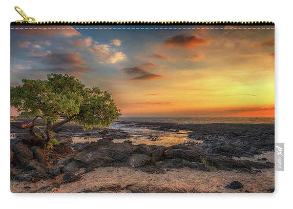 Wawaloli Beach Sunset Carry-all Pouch