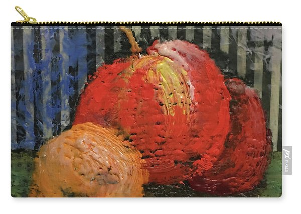 Waxed Fruit Carry-all Pouch