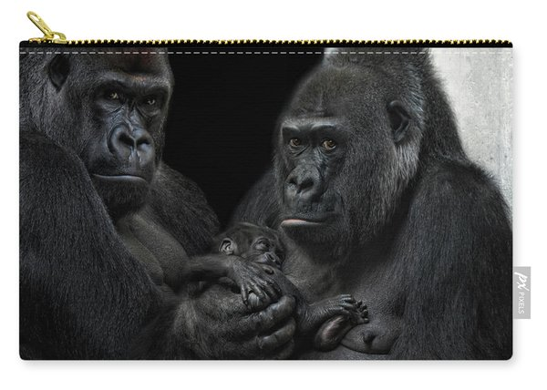 We Are Family Carry-all Pouch