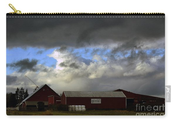 Weather Threatening The Farm Carry-all Pouch