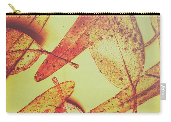 Weathered Autumn Leaves Carry-all Pouch