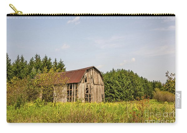 Weathered Barn Basking In The Summer Sun Carry-all Pouch