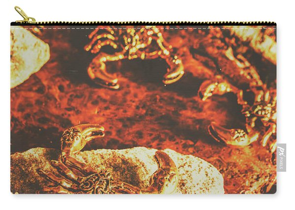 Weathered Scorpion Art Carry-all Pouch