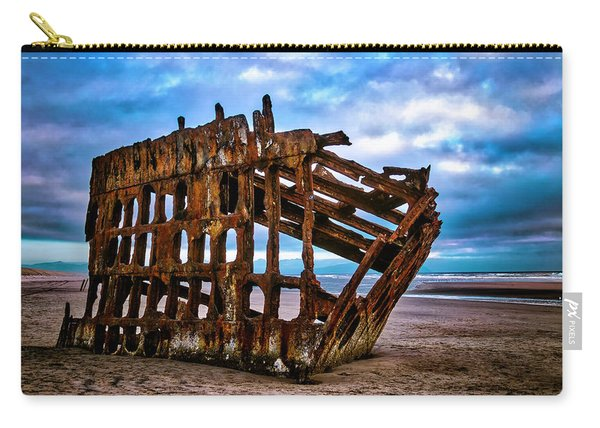 Weathered Shipwreck Carry-all Pouch