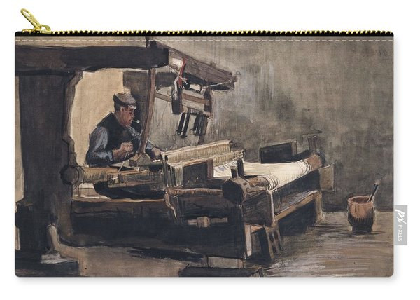 Weaver Nuenen, December 1883 - August 1884 Vincent Van Gogh 1853 - 1890 2 Carry-all Pouch