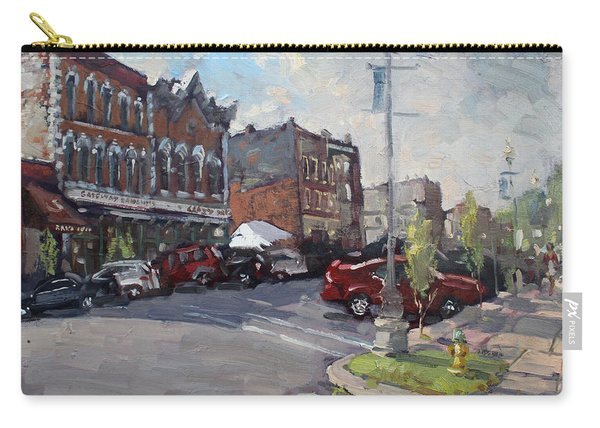 Webster Street North Tonawanda Carry-all Pouch