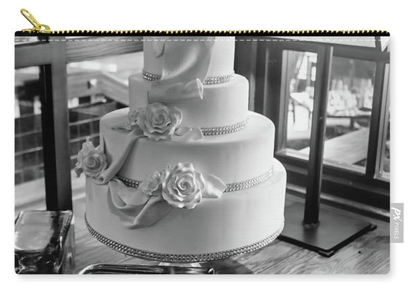 Wedding Cake Bw Series 0956 Carry-all Pouch