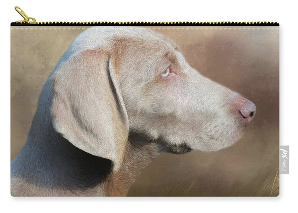Weimaraner Adult - Painting Carry-all Pouch