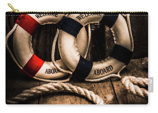 Welcome Aboard The Dark Cruise Line Carry-all Pouch