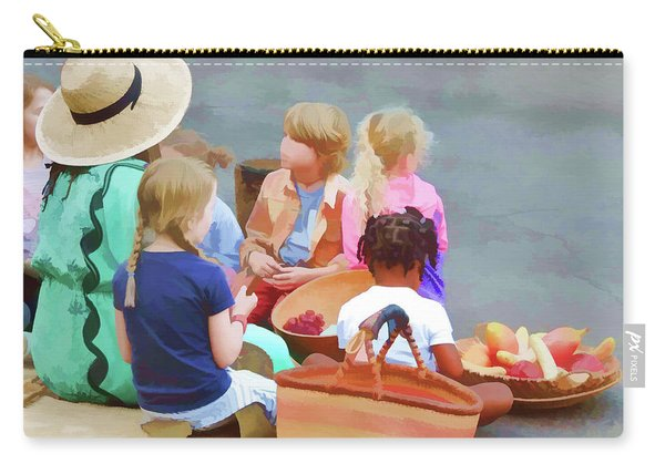 Welcome The Children Carry-all Pouch