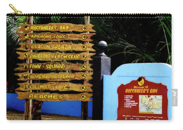 Welcome To Labadee Carry-all Pouch