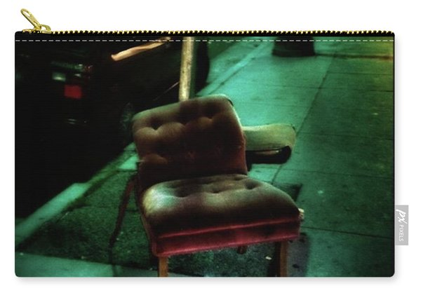 Carry-all Pouch featuring the photograph Welcome To My Living Room, Pull Up A by Mr Photojimsf