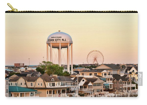 Welcome To Ocean City, Nj Carry-all Pouch