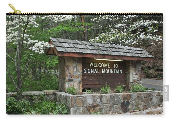 Welcome To Signal Mountain Spring Carry-all Pouch