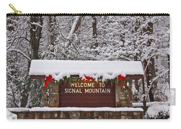 Welcome To Signal Mountain Carry-all Pouch