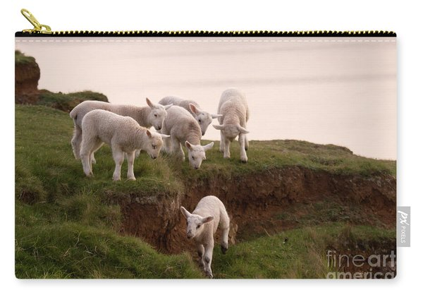 Welsh Lambs Carry-all Pouch