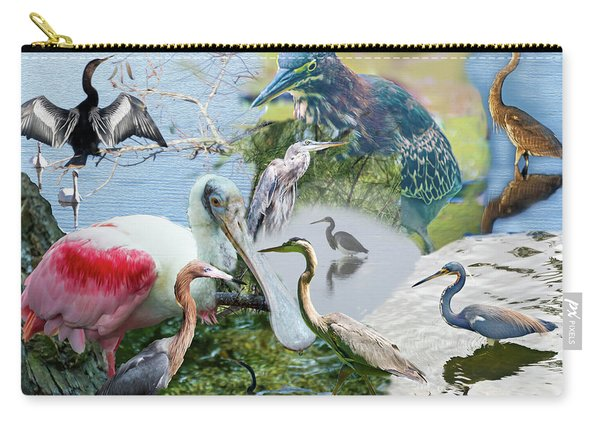 Welter Of Waterbirds Carry-all Pouch