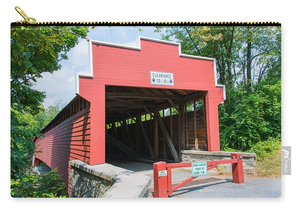 Wertz Covered Bridge Carry-all Pouch