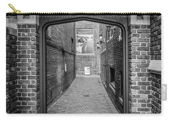 Carry-all Pouch featuring the photograph Wesport Arch by Michael Hope