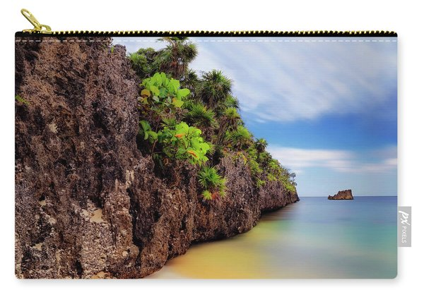 West Bay Beach At Isla Roatan - Caribbean - Honduras - Seascape Carry-all Pouch