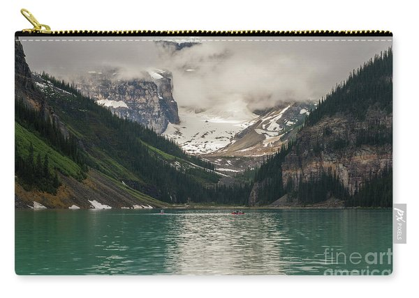 West End Of Lake Louise Carry-all Pouch