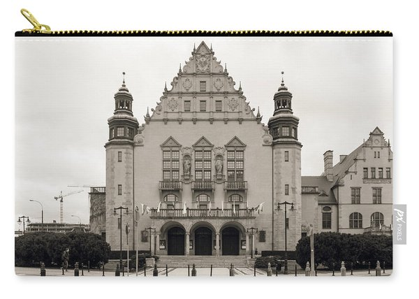 West Facade Of Adam Mickiewicz University Poznan Poland Carry-all Pouch