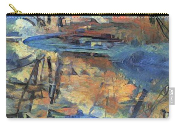 West Fork Reflection - Oak Creek Canyon Carry-all Pouch