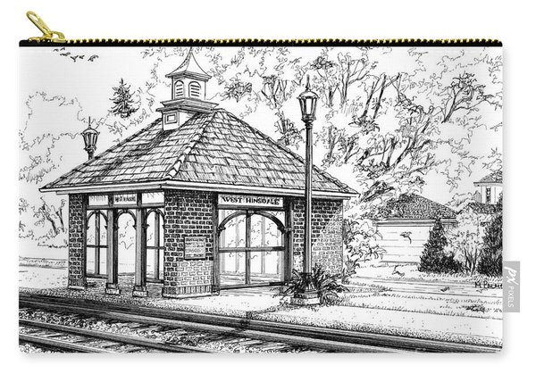 West Hinsdale Train Station Carry-all Pouch