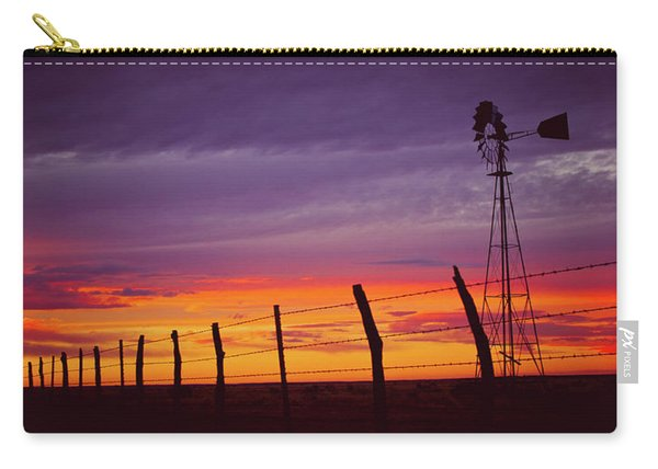 West Texas Sunset Carry-all Pouch