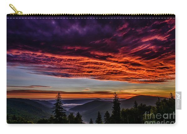 West Virginia Highland Dawn Carry-all Pouch