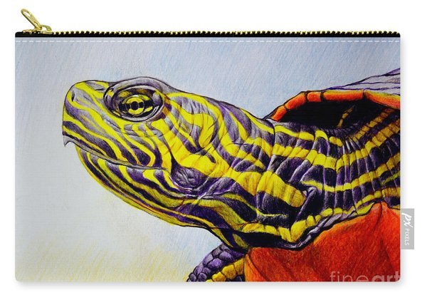 Western Painted Turtle Carry-all Pouch