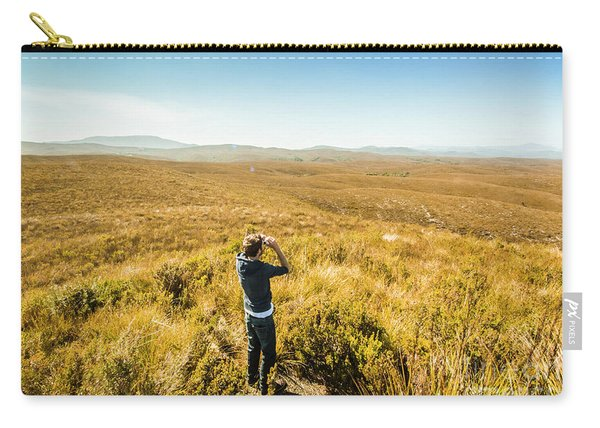 Western Plains Of Tasmania Carry-all Pouch