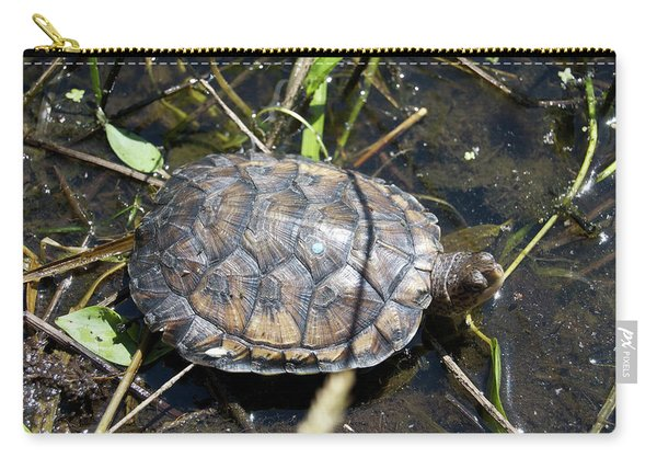 Western Pond Turtle, Actinemys Marmorata Carry-all Pouch