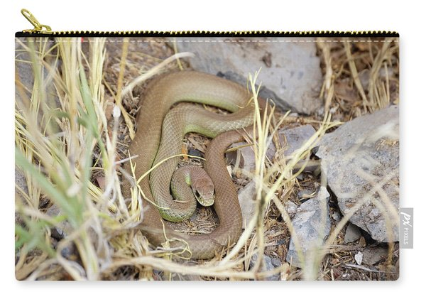 Western Yellow-bellied Racer, Coluber Constrictor Carry-all Pouch