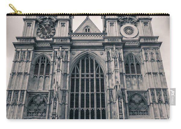 Westminister Abbey Bw Carry-all Pouch
