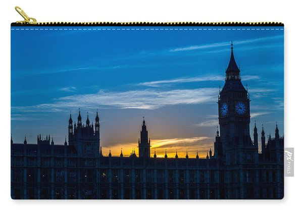 Westminster Parlament In London Golden Hour Carry-all Pouch