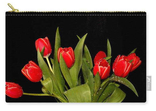 Wet Tulips Carry-all Pouch