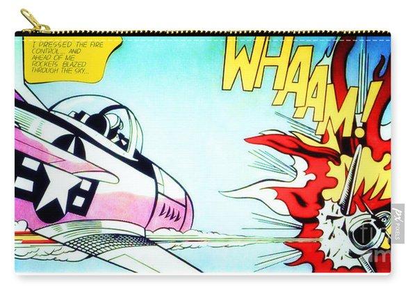Whaam - Roy Lichtenstein  Carry-all Pouch