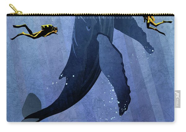 Whale Dive Carry-all Pouch