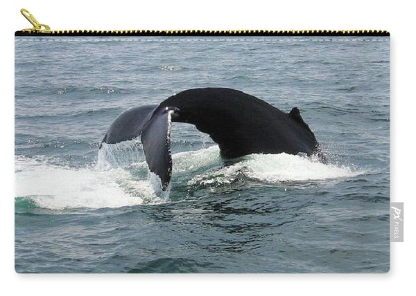 Whale Of A Tail Carry-all Pouch