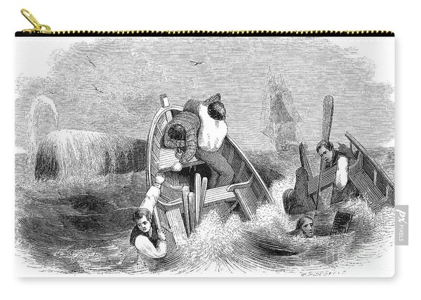 Whaling, C1830 Carry-all Pouch