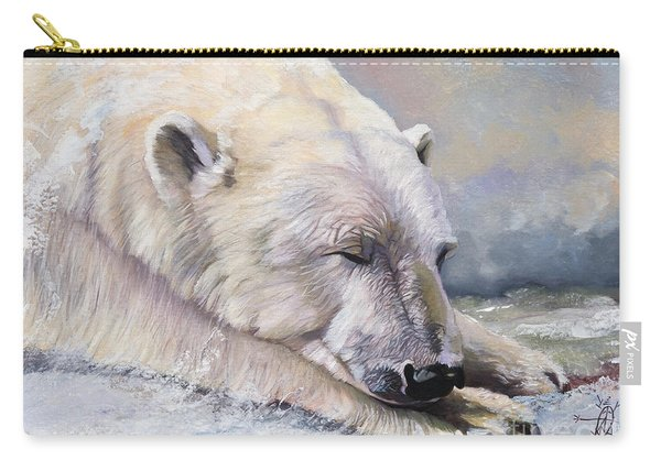 What Do Polar Bears Dream Of Carry-all Pouch