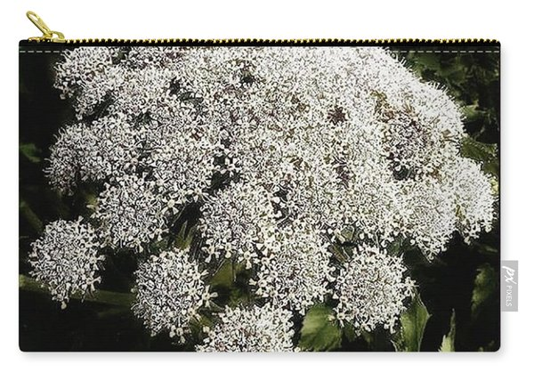Carry-all Pouch featuring the photograph What Flower Is This? I Think It's by Mr Photojimsf