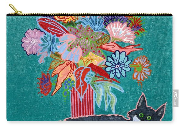 What Flowers Carry-all Pouch