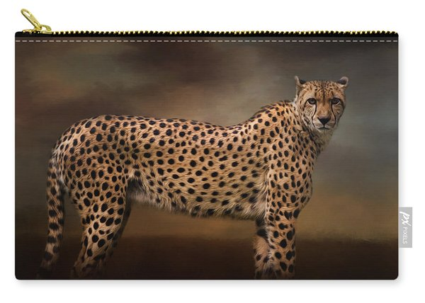 What You Imagine - Cheetah Art Carry-all Pouch