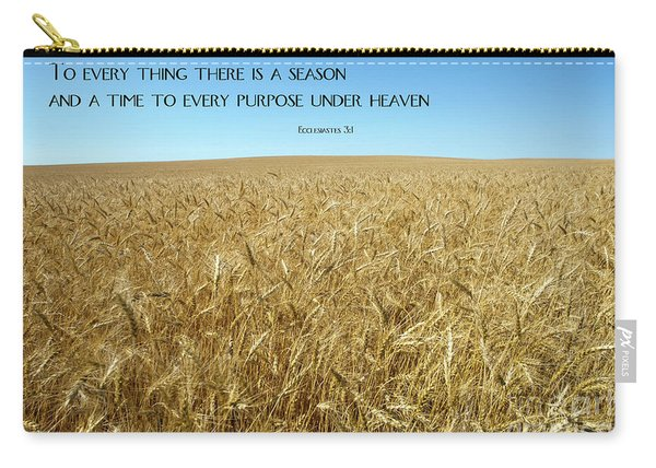Wheat Field Harvest Season Carry-all Pouch