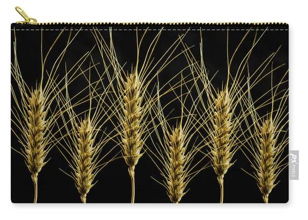 Wheat In A Row Carry-all Pouch