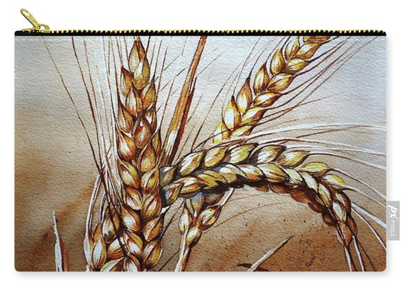 Wheat Stalk Carry-all Pouch