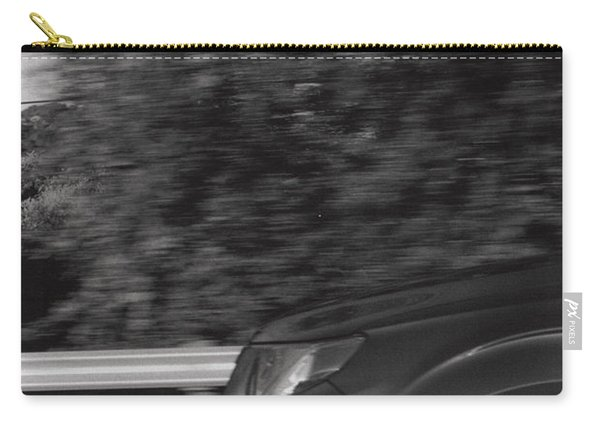 Wheel Blur Photograph Carry-all Pouch