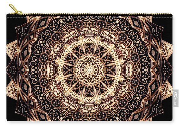 Wheel Of Life Mandala Carry-all Pouch